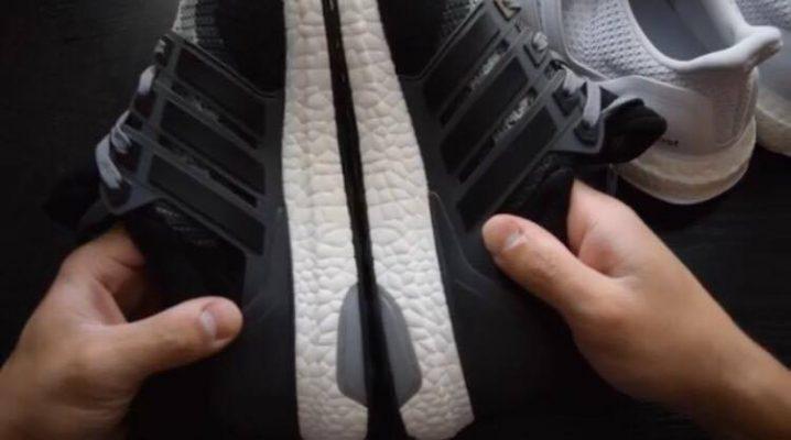 Giày Adidas thật giả