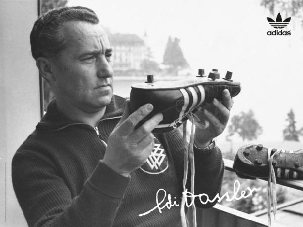 Adolf (Adi) Dassler nhà sáng lập nên hãng giày nổi tiếng Adidas