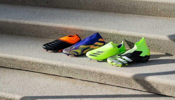 Adidas vừa giới thiệu bộ sưu tập (BST) giày đinh đá bóng mới nhất của mình với tên gọi 'Precision to Blur'.
