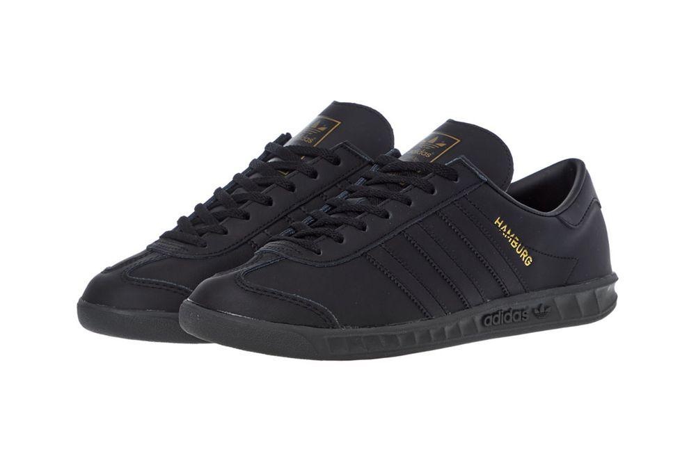 "Adidas Originals Hamburg ""Core Black"""