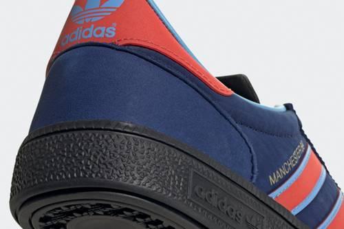 Adidas Manchester 89 SPZL là một món quà tri ân của hãng giày Adidas gửi đến thành phố Manchester và các đội bóng của nó.