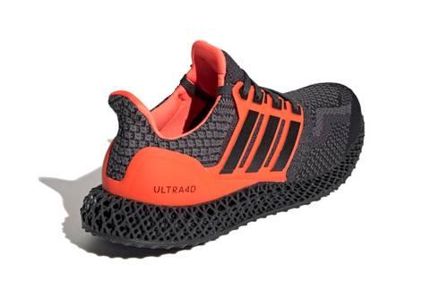 "Adidas Ultra4D ""Core Black / Solar Red"""