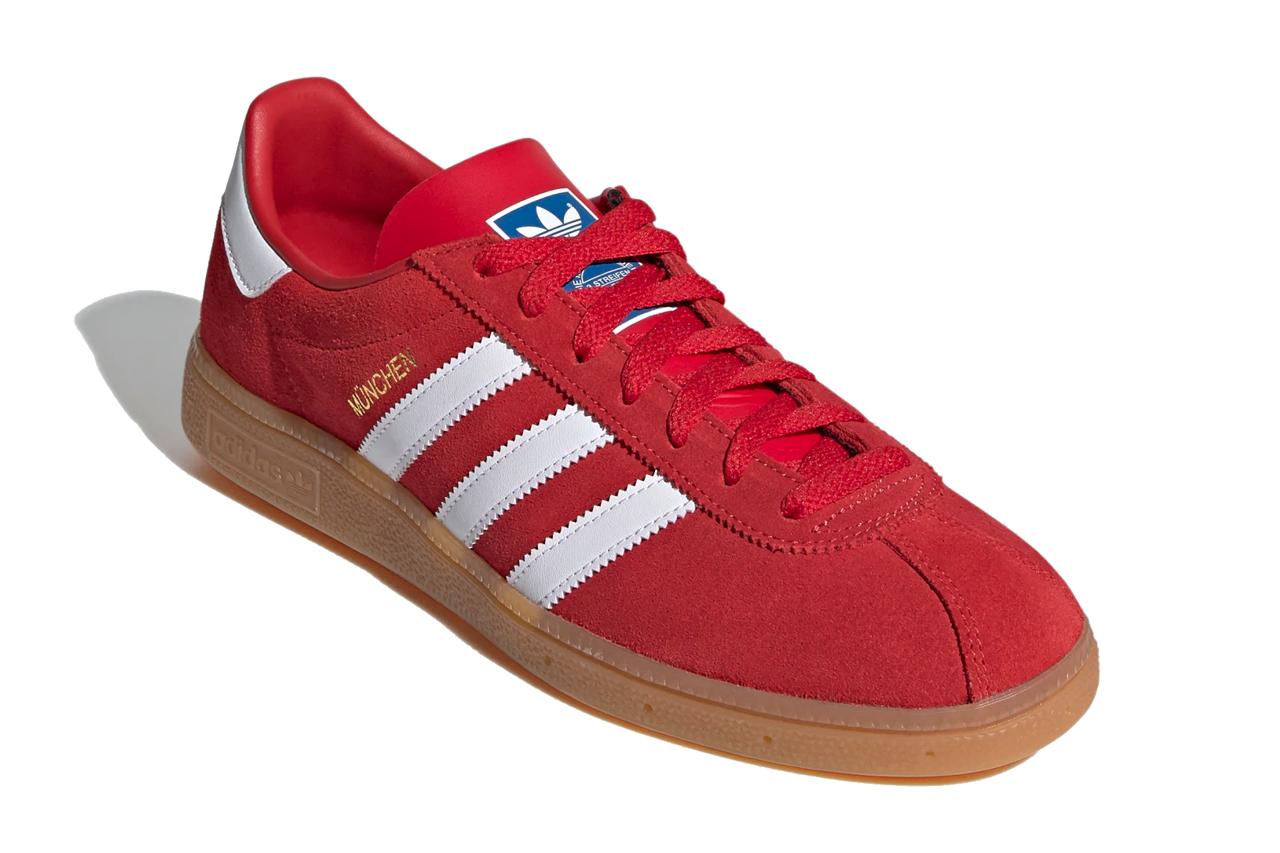 Adidas München Scarlet