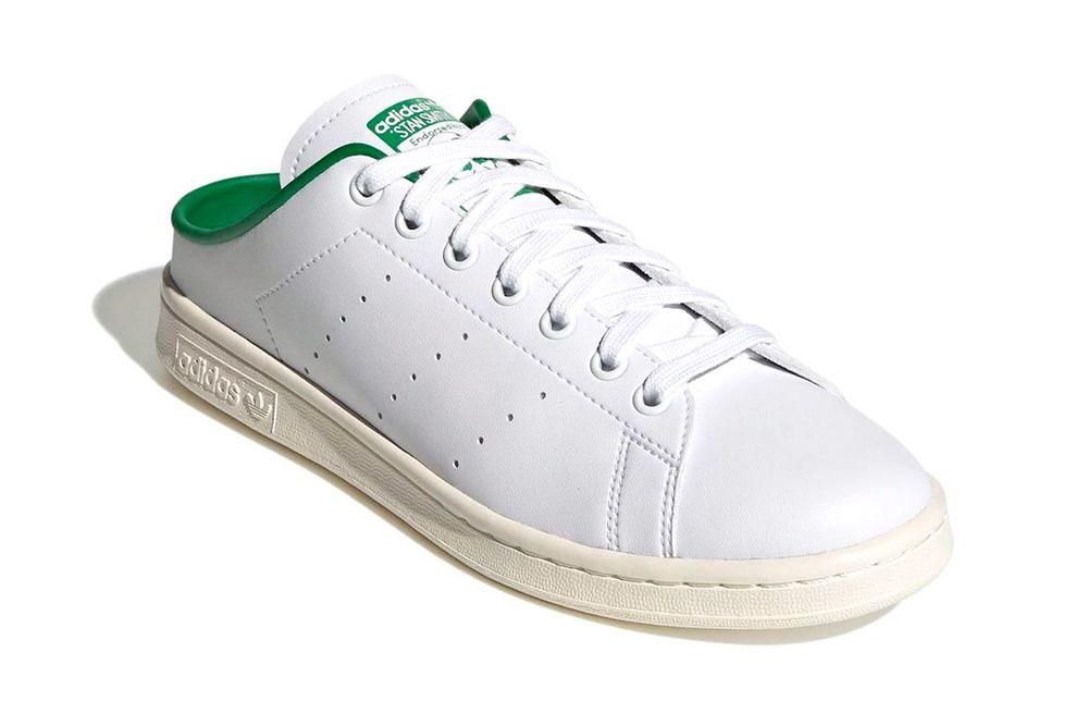 """Adidas Stan Smith Slip-On """"White / Green-Off White"""""""