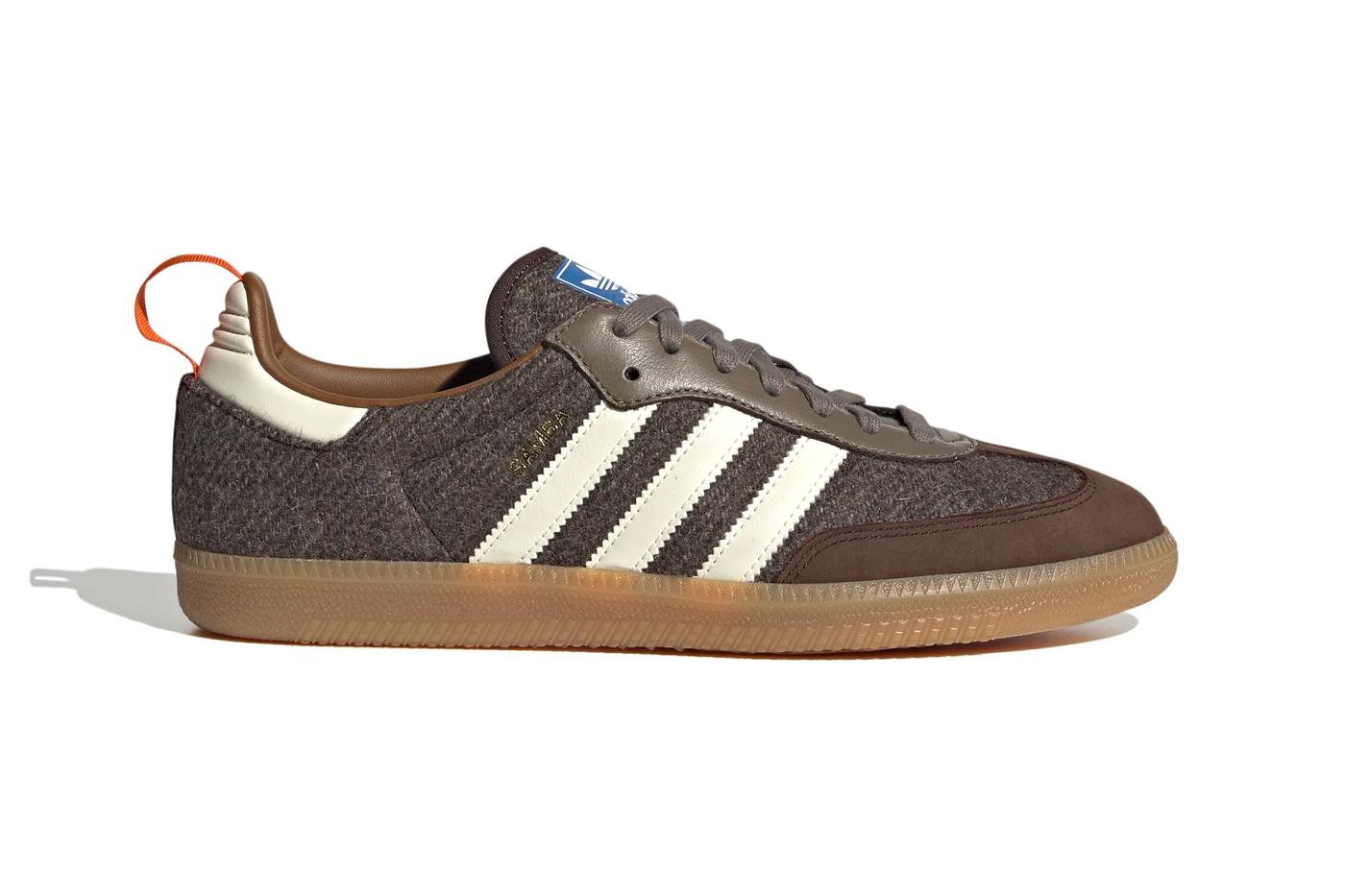 "Adidas Samba Fox ""Dark Brown"""