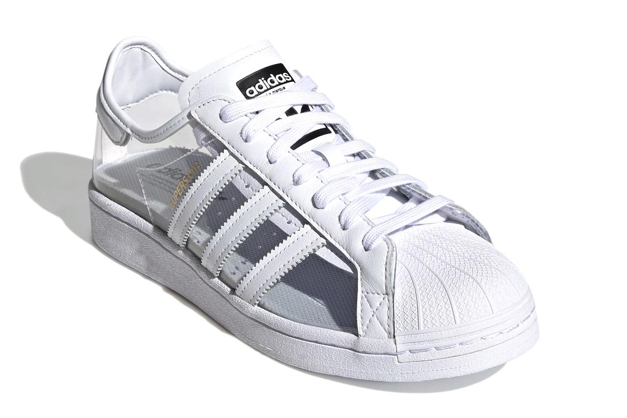 Adidas Superstar nhìn xuyên thấu